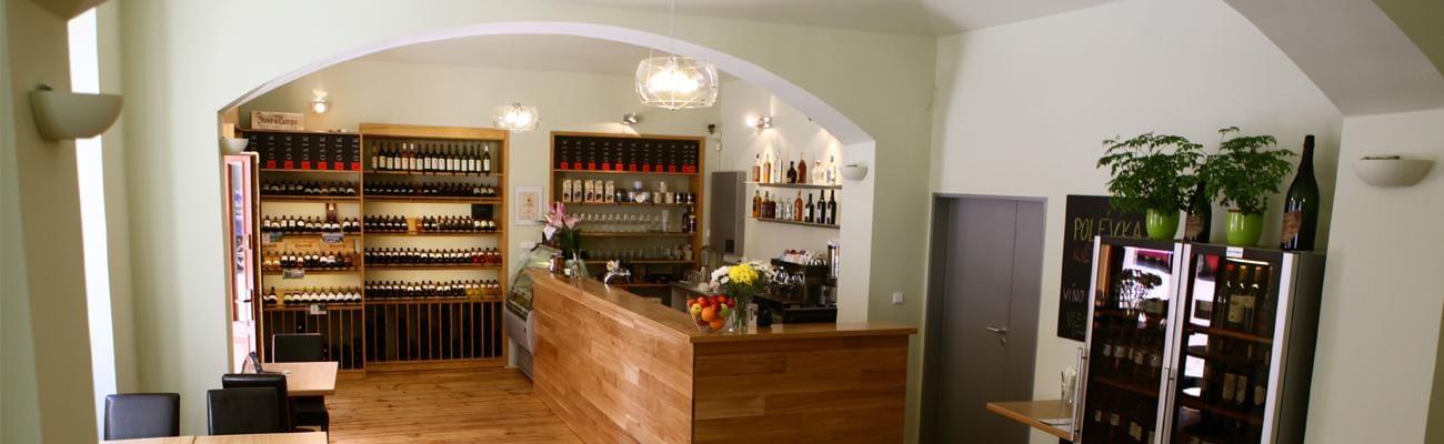 VinCaffé - interiér